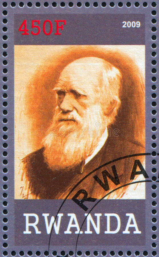 Charles Robert Δαρβίνος στοκ φωτογραφίες με δικαίωμα ελεύθερης χρήσης