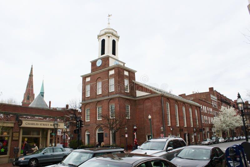 Charles Street Meeting House stock foto
