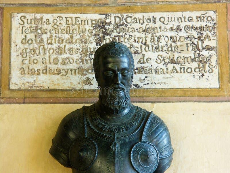 Charles V, imperatore dell'impero romano santo fotografia stock