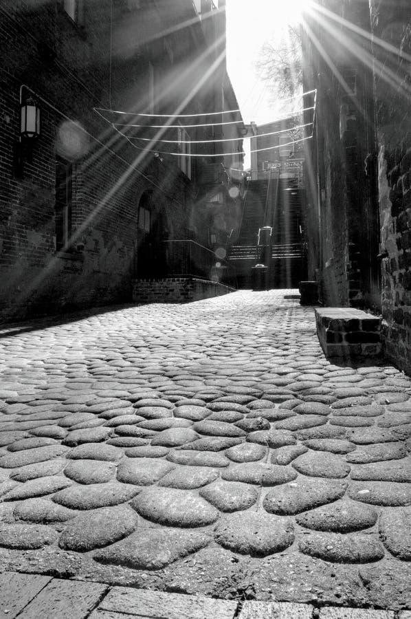 Charleston Alley stock fotografie