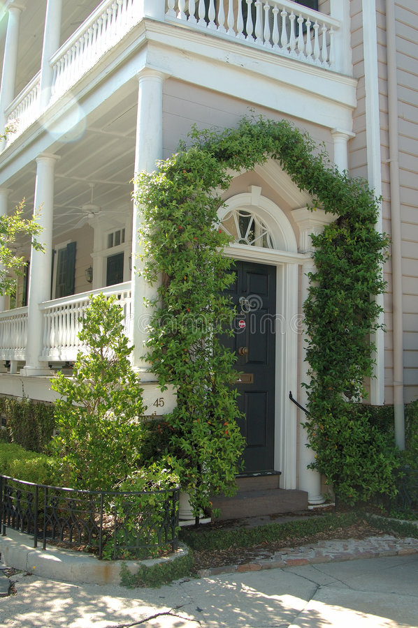 Charleston Architecture stock photo