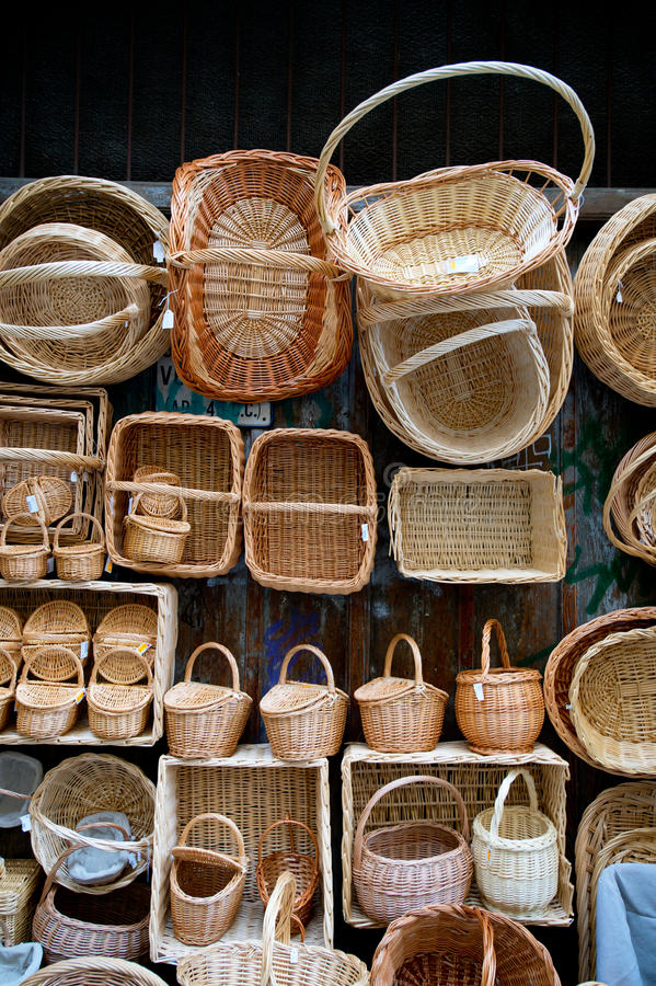 Charleston Baskets lizenzfreies stockfoto