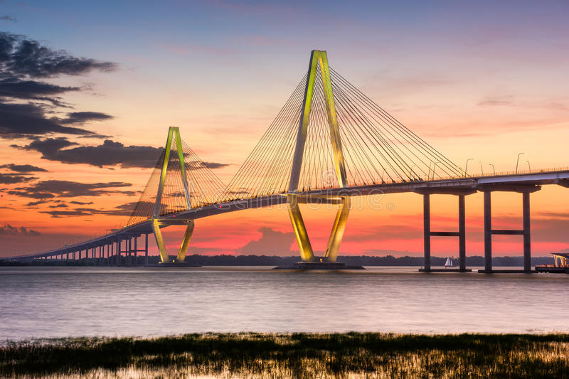 Charleston Bridge royalty free stock photography