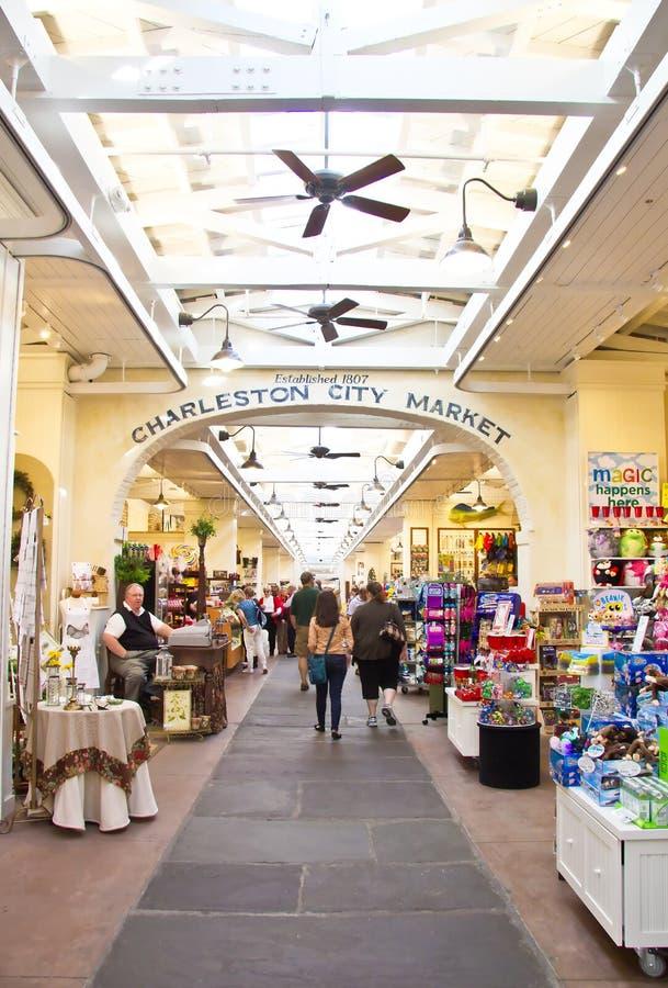 Free Charleston City Market Royalty Free Stock Photos - 23355578
