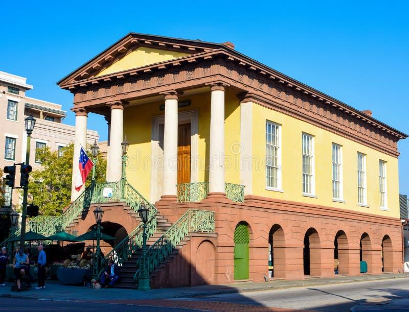 Charleston City Market histórico, Charleston, SC fotografia de stock royalty free