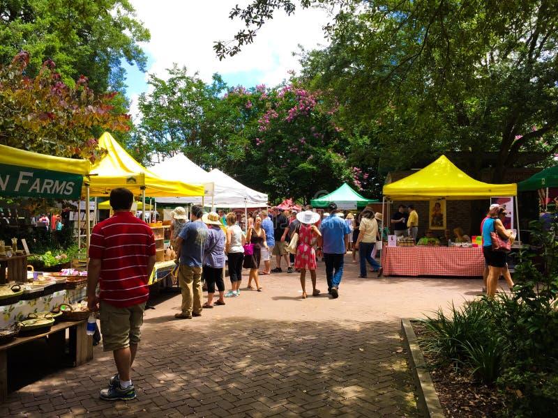 Charleston Farmers Market fotografie stock