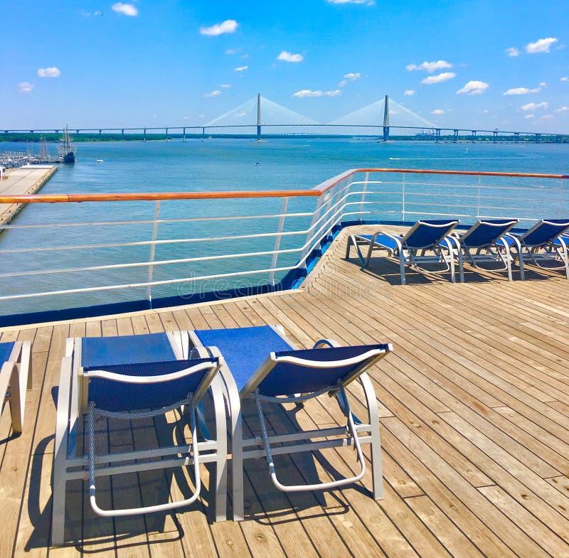 Charleston Harbor imagen de archivo