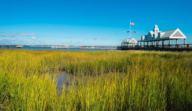 Charleston harbor royalty free stock images
