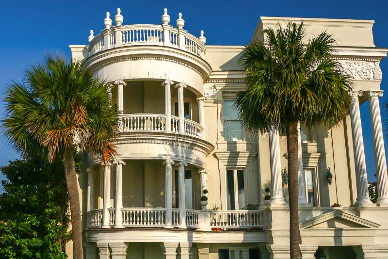 Charleston Mansion - bedöva arkivfoto