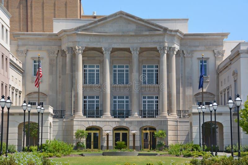 Charleston Miejski audytorium fotografia stock