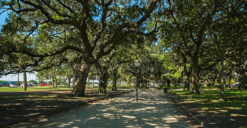 Charleston park royalty free stock photos