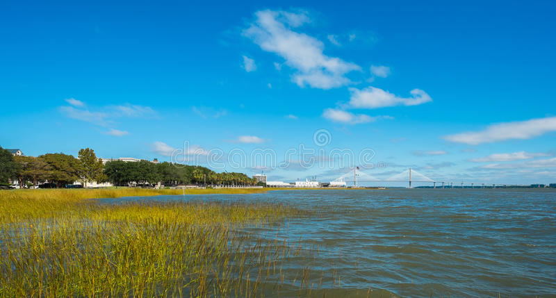 Charleston park stock image