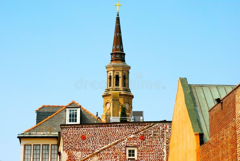 Charleston-Skyline lizenzfreies stockfoto