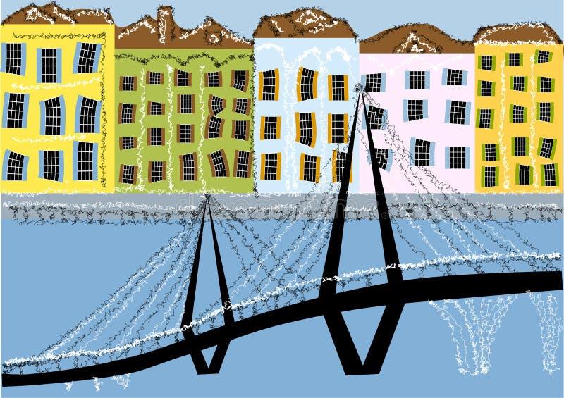 Charleston South Carolina ilustração do vetor
