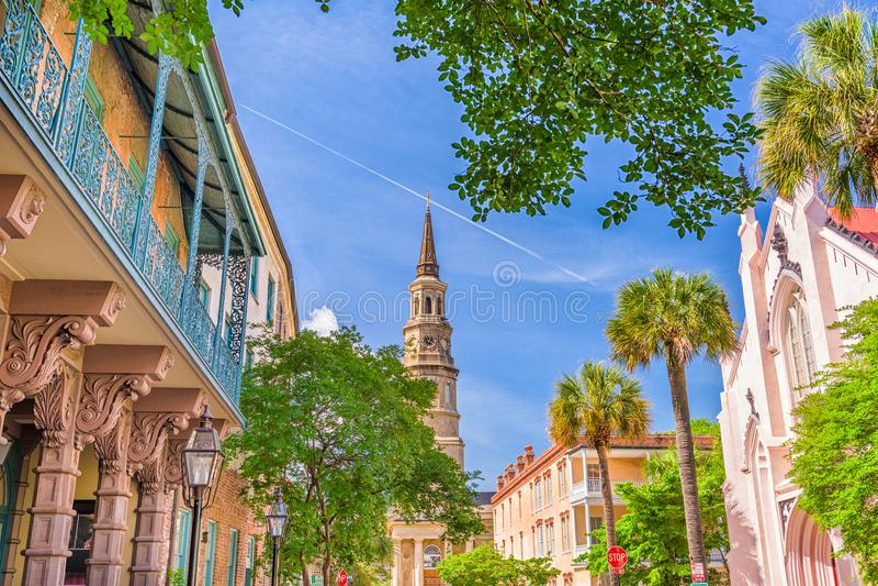 Charleston, South Carolina, EUA foto de stock