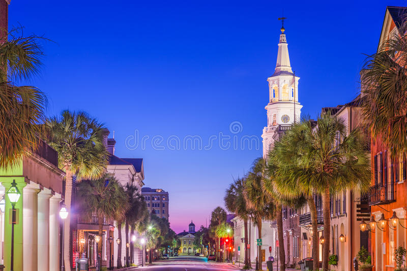 Charleston South Carolina, USA royaltyfri bild