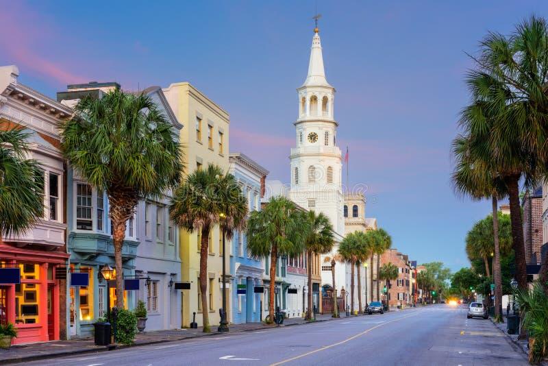 Charleston south Carolina royalty free stock photo
