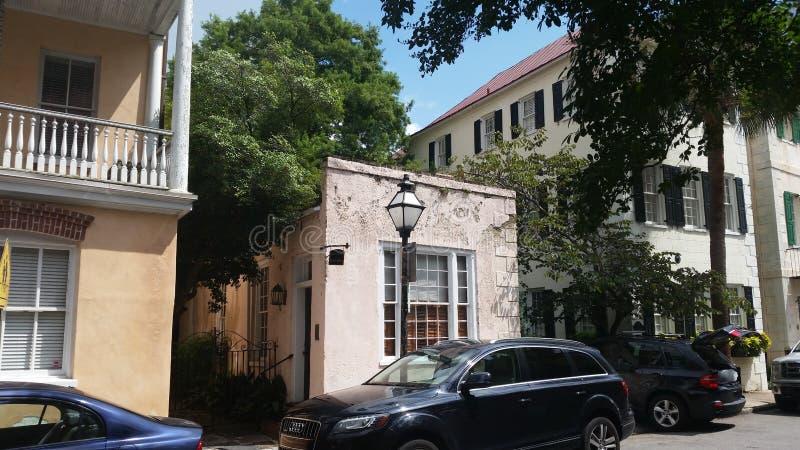 Charleston Street royaltyfria bilder