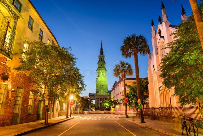 Charleston ulicy scena zdjęcie royalty free