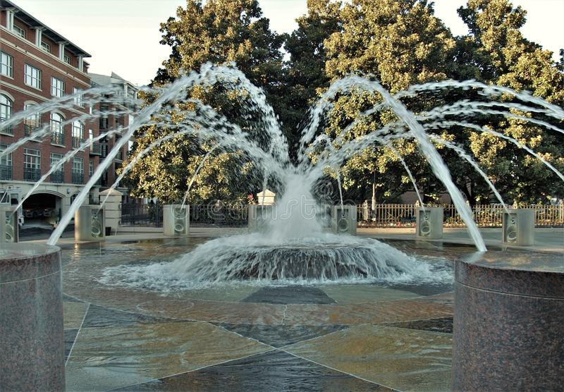 Charleston Waterfront Park fotos de stock