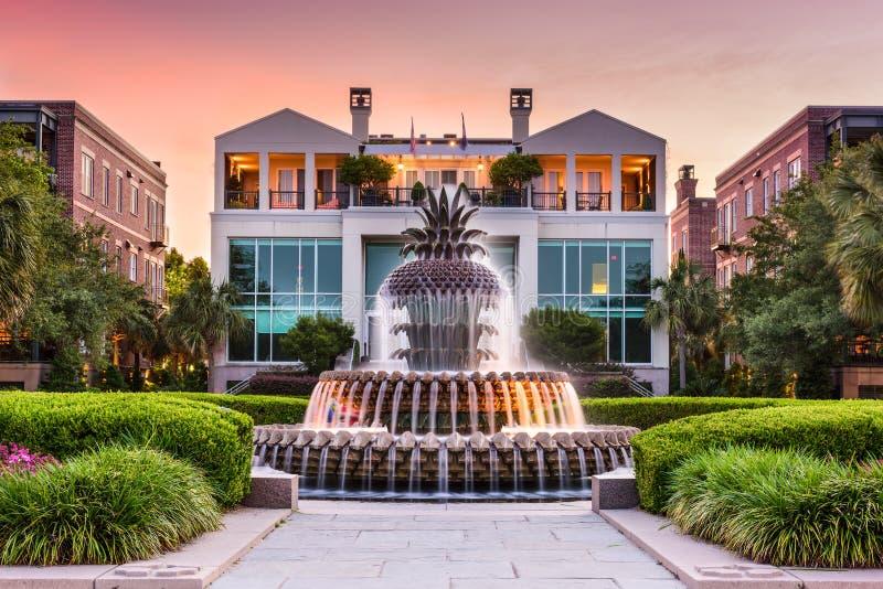 Charleston Waterfront Park royalty free stock photo