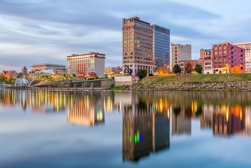 Charleston, West Virginia, EUA fotografia de stock royalty free
