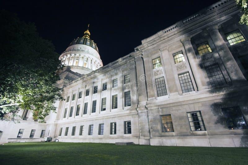 Charleston, West-Virginia - het Capitool van de Staat royalty-vrije stock fotografie