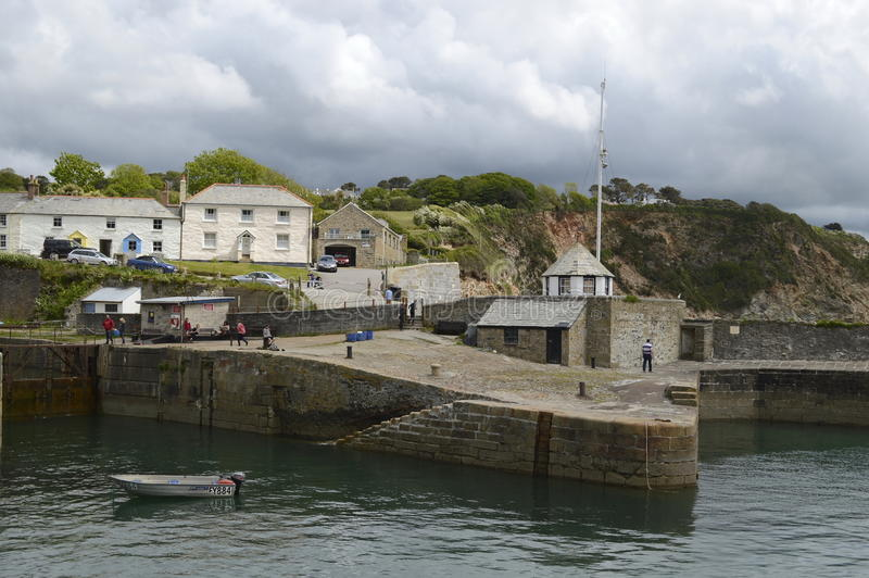 Charlestown (Cornish: Porth Meur, meaning great cove) is a village and port on the south coast of Cornwall, England, stock photos