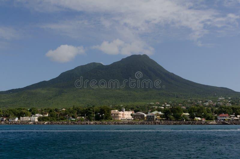 Charlestown, Nevis imagem de stock