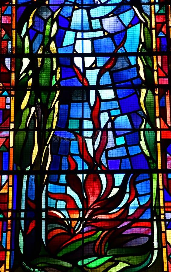 Charleval, Франция - 7-ое сентября 2016: Церковь St Denis стоковое фото rf