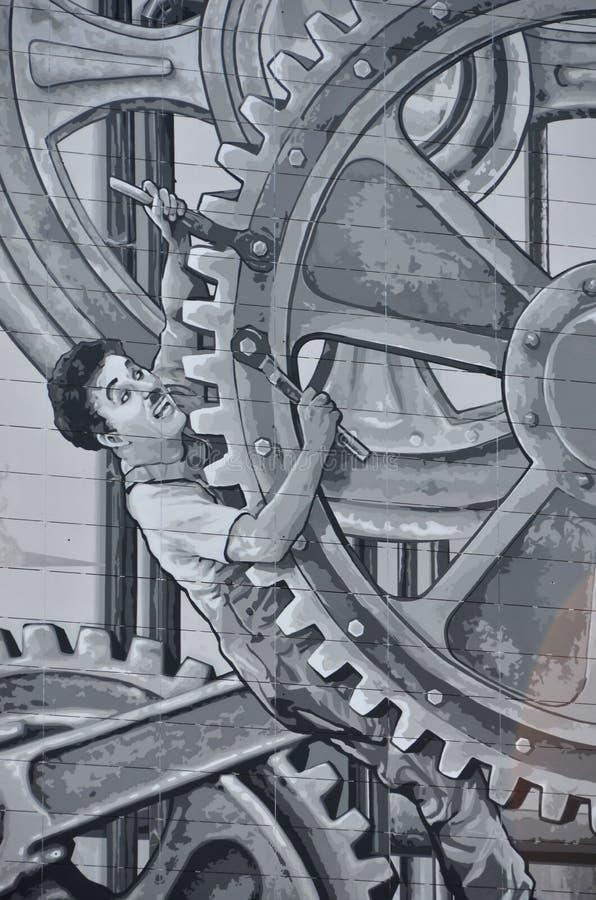 Download Charlie Chaplin editorial image. Image of building, genius - 23952515