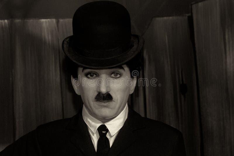 Charlie Chaplin immagine stock