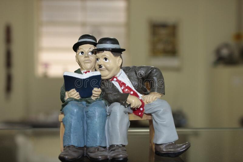 Charlie Chaplin Ceramic Figurine Free Public Domain Cc0 Image