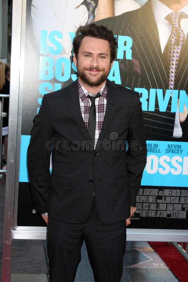 Download Charlie Day editorial photo. Image of horrible, june - 23928411