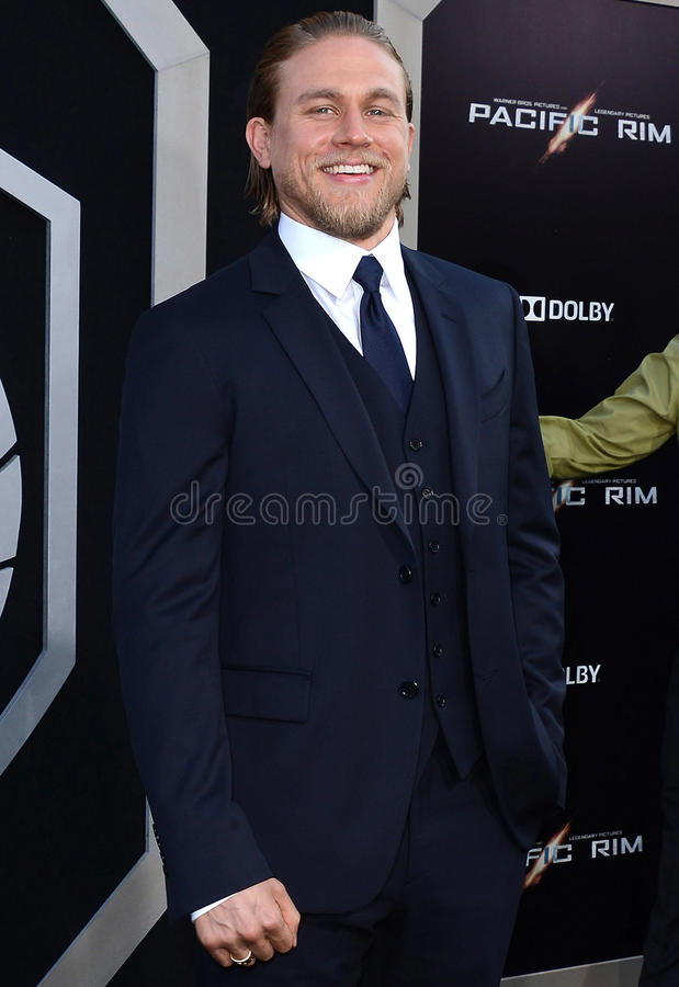 Charlie Hunnam. At the Los Angeles premiere of 'Pacific Rim' held at the Dolby Theatre in Hollywood on July 9, 2013 in Los Angeles, California stock photo