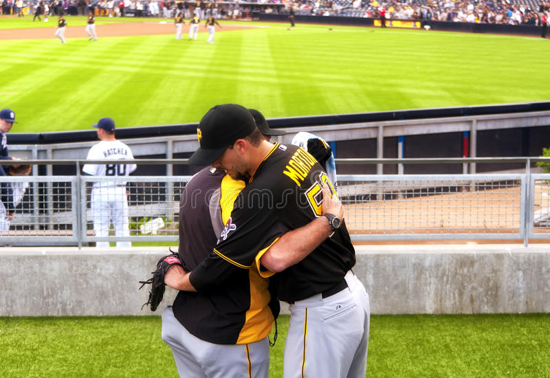 Charlie Morton Pittsburgh Pirates royalty-vrije stock foto