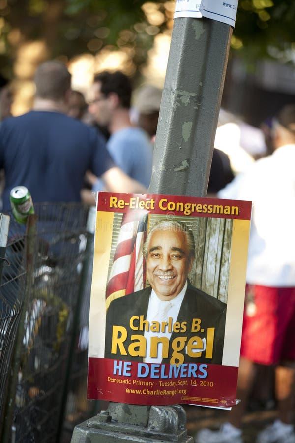 Download Charlie Rangel Election Poster Editorial Image - Image: 16027105