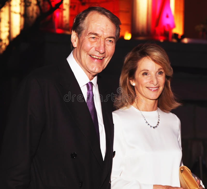 Download Charlie Rose And Amanda Burden Editorial Photography - Image: 22624127
