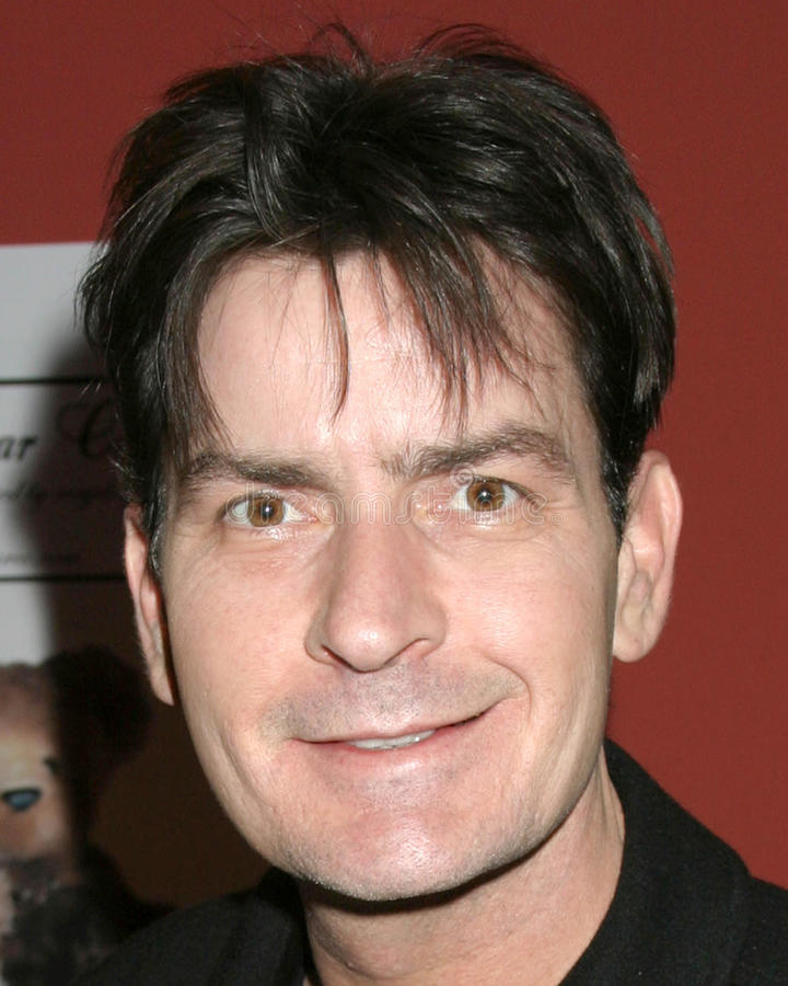 Charlie Sheen. GBK Productions Golden Globe Gifting Suite Friar's Club Beverly Hills CA January 13, 2007 royalty free stock images