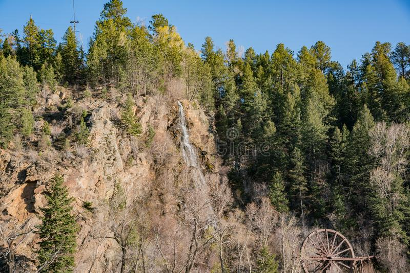 Charlie Tayler Wodny koło przy Idaho wiosnami zdjęcie royalty free