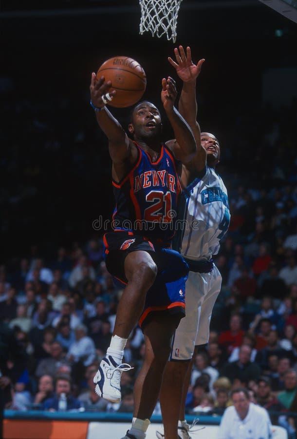 Charlie Ward New York Knicks fotografie stock libere da diritti