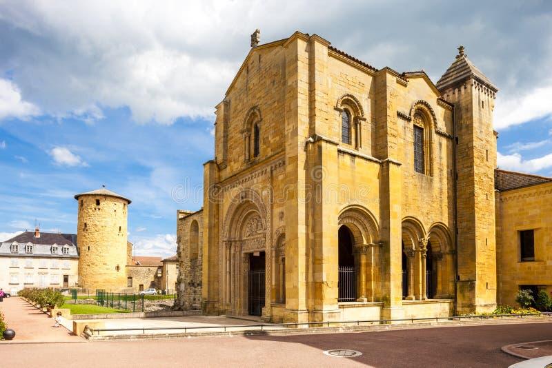 Charlieu-Abtei, Abteilung die Loire, Rh?ne-Alpes, Frankreich lizenzfreies stockbild
