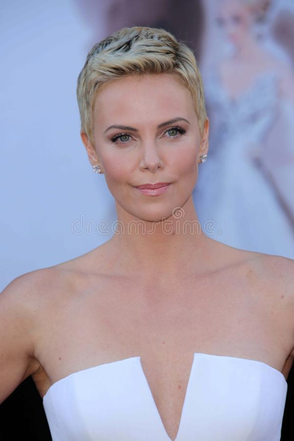 Charlize Theron royalty-vrije stock fotografie