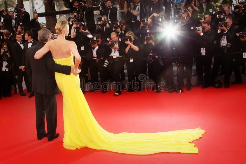 Charlize Theron, Sean Penn fotografía de archivo libre de regalías