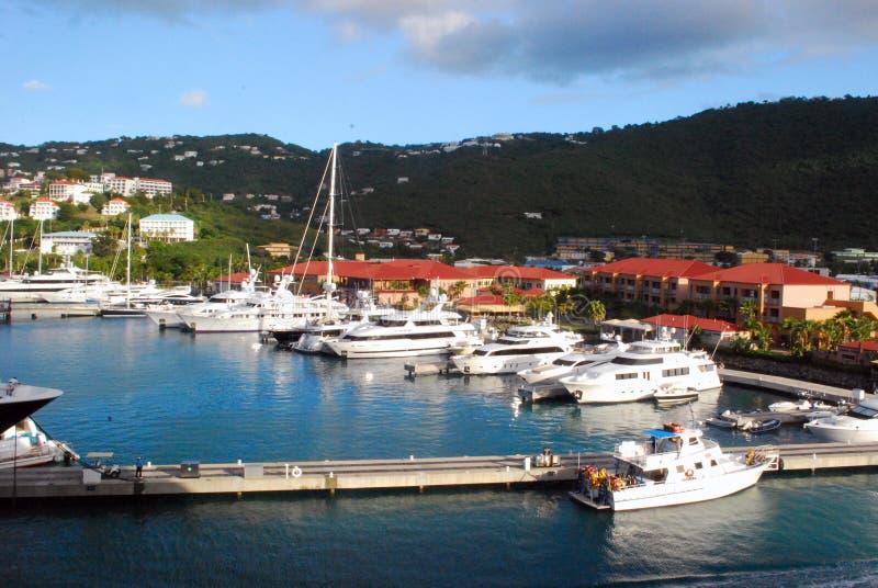Charlotte-Amalie royaltyfri foto