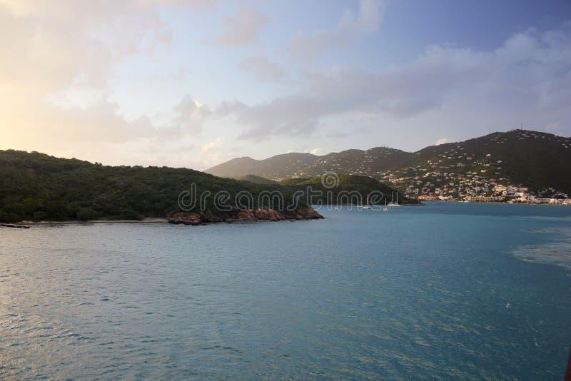 Charlotte Amalie Harbor, St Thomas imagem de stock
