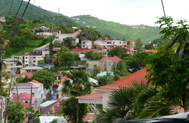 Charlotte Amalie, Saint Thomas Island, US Virgin Islands. Historic Town of Charlotte Amalie at Saint Thomas Island, US Virgin Islands, USA royalty free stock photos