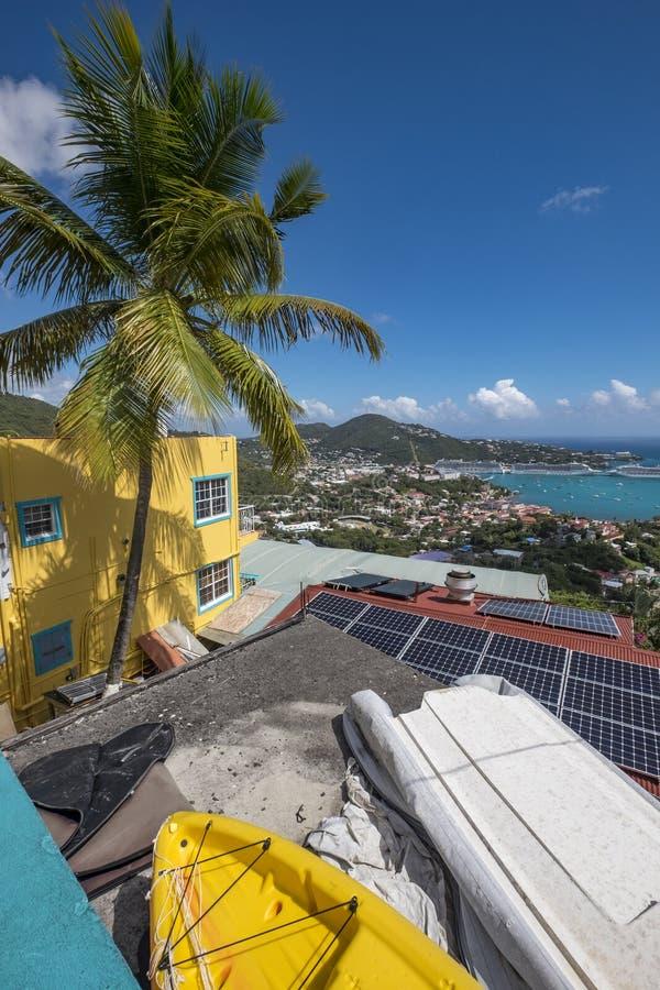 Charlotte Amalie a St Thomas fotografie stock libere da diritti