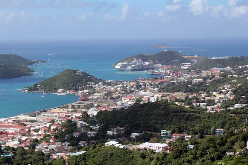 Charlotte Amalie, St Thomas, USVI photographie stock libre de droits