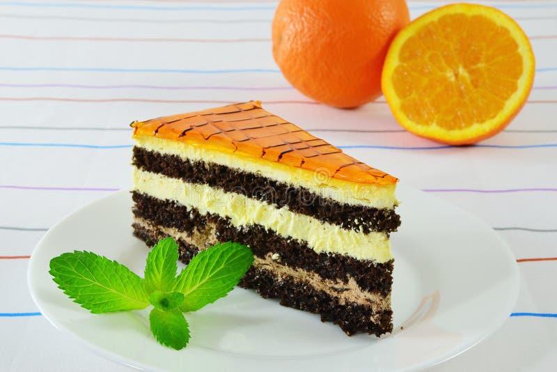 Charlotte cake royalty free stock photo
